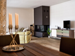 Farbgestaltung Wohnung Arosa Maler Altmann